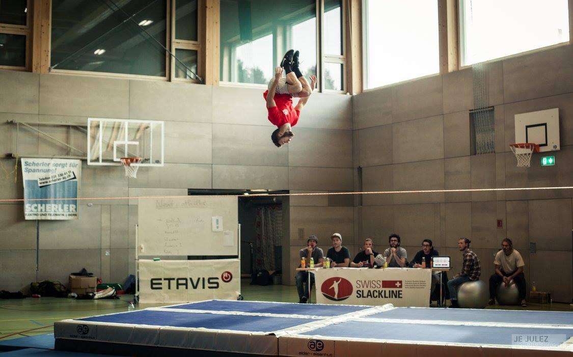 Je Julez Swiss Championship Slackline