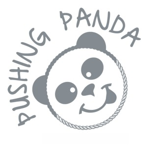 Pushing Panda Logo