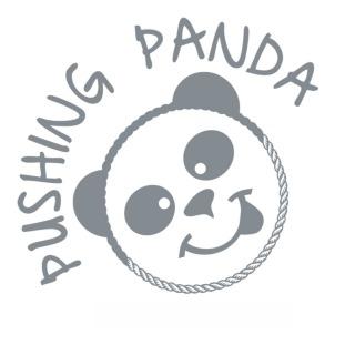 Pushing Panda Logo