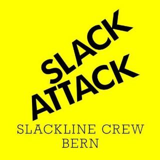 Slackattack - Slackline Crew Bern Logo
