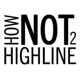 How NOT to Highline Logo
